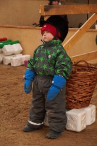 Ruska Laukan tallilla ratsastus- ja teemapäiviä harrastaja perheiden kanssa Ruka Kuusamossa